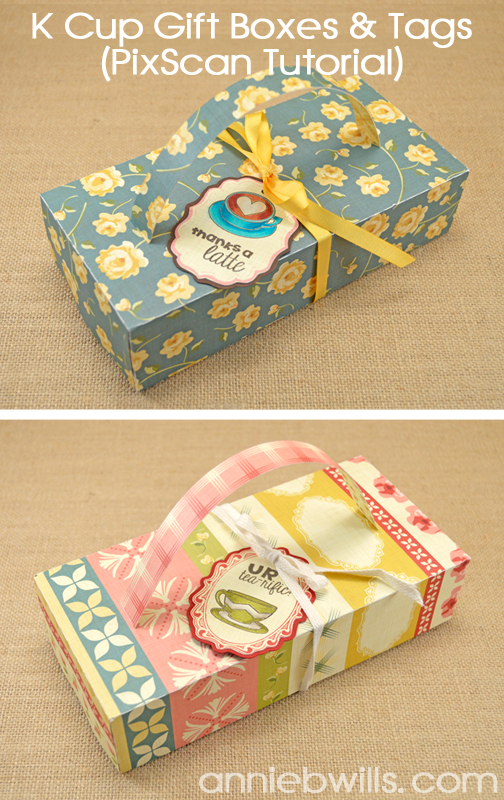 KCup Gift Boxes with Tags by Annie Williams - Full