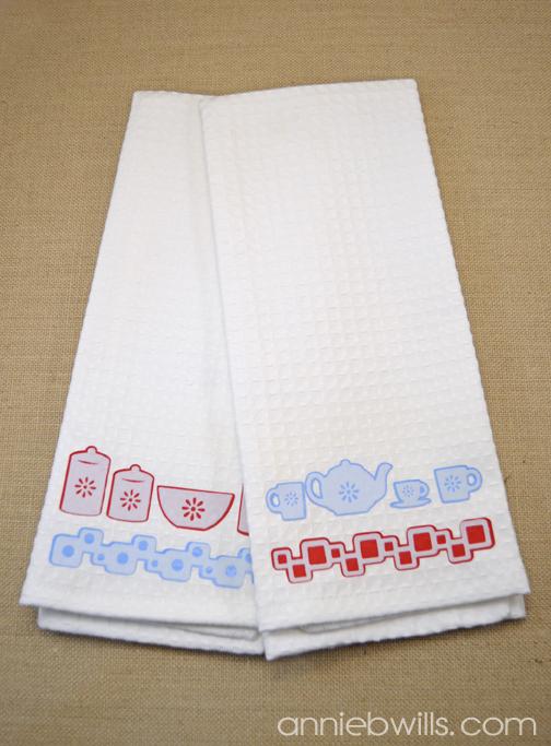 Retro Kitchen Towel Set By Annie Williams Main