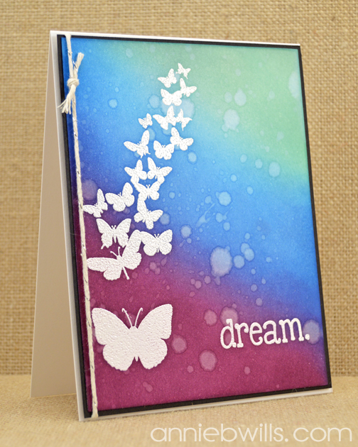 Dream in Color Card by Annie Williams - Blue