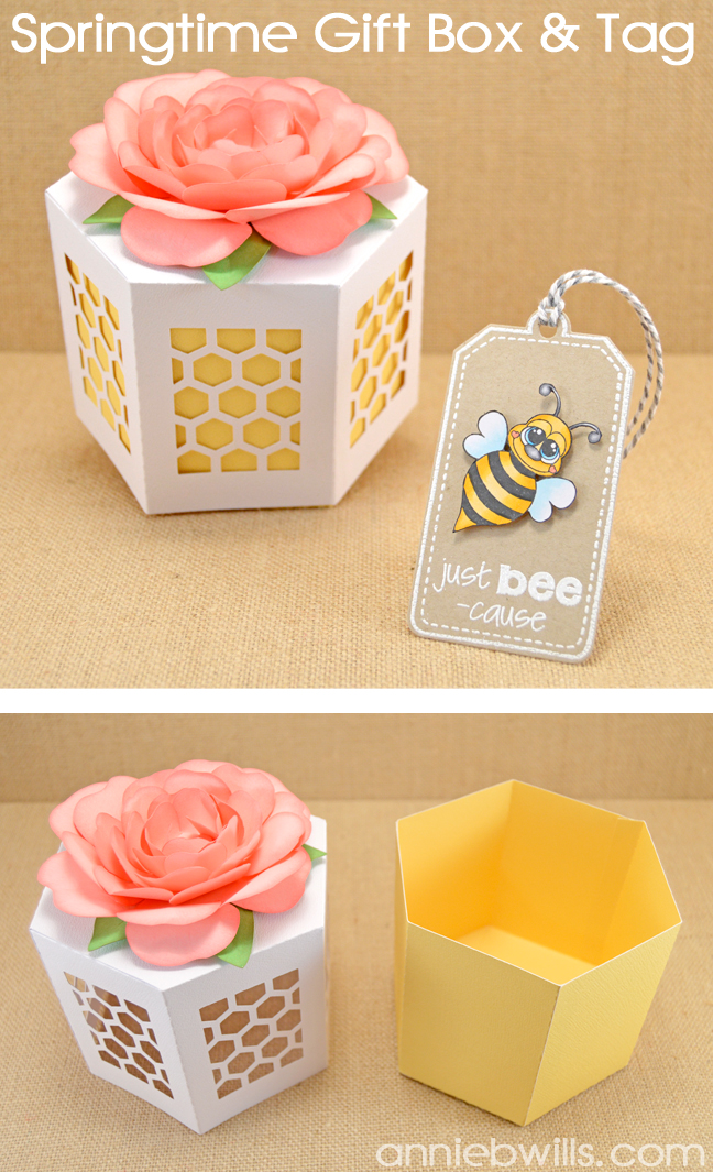 Just Bee-cause Gift Box by Annie Williams - Header