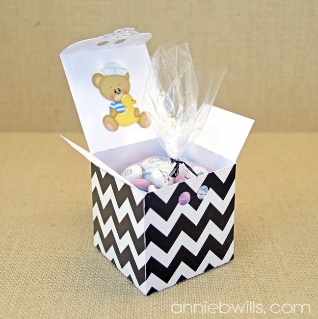 Baby Announcement Favors by Annie Williams - Open