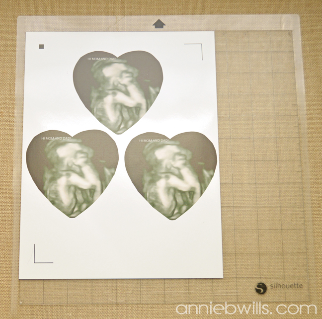 Foiled Picture Frame by Annie Williams - Print&Cut