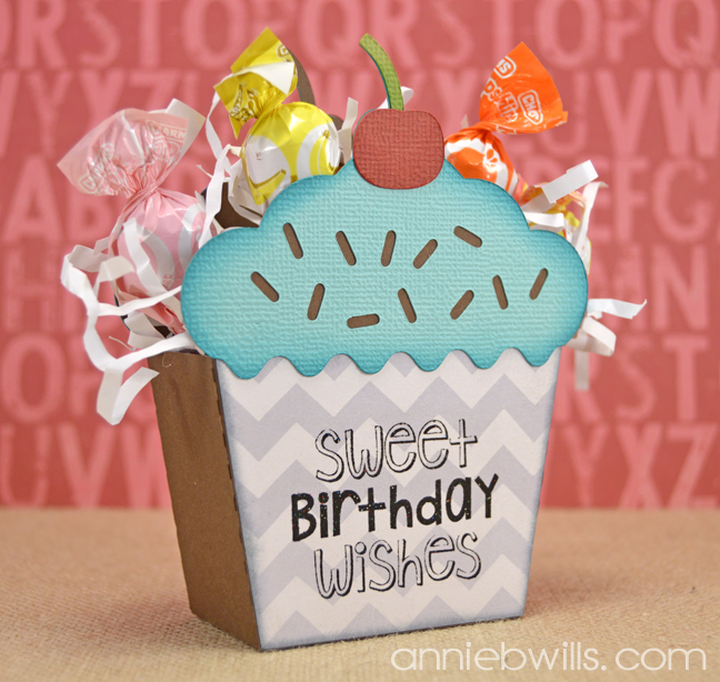 3D Cupcake Box by Annie Williams - Main