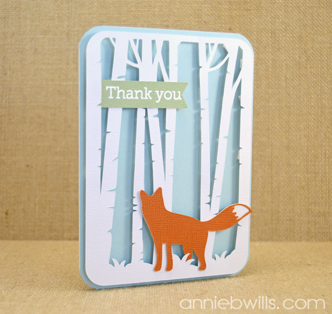 Woodland Thank You Cards by Annie Williams - IG
