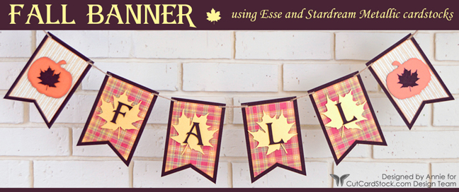 Fall Banner by Annie Williams - Banner