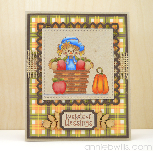 Bushels of Blessings Card by Annie Williams - Full