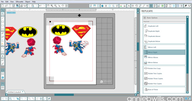 Superhero Onesies by Annie Williams - Design Placement