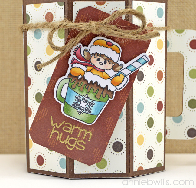 Hot Cocoa Gift Box by Annie Williams - Detail