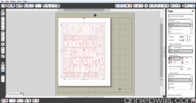 Christmas Subway Art by Annie Williams - Screenshot 1