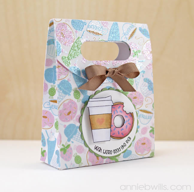 Coffee & Donuts Treat Box by Annie Williams - Main