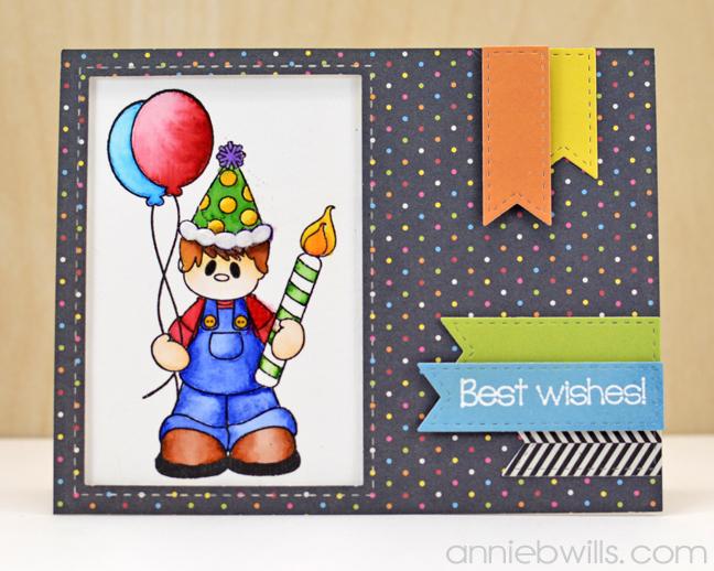 Best Wish Birthday Card by Annie Williams - Full