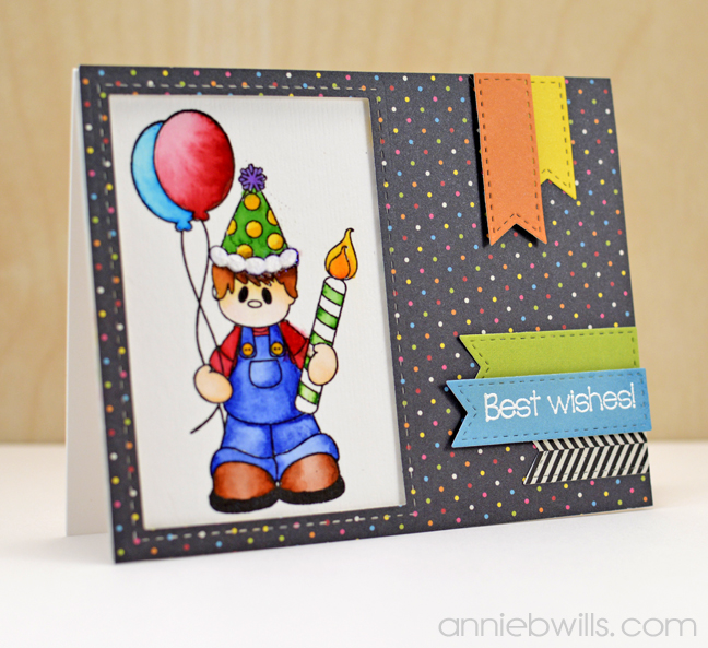 Best Wish Birthday Card by Annie Williams - Main