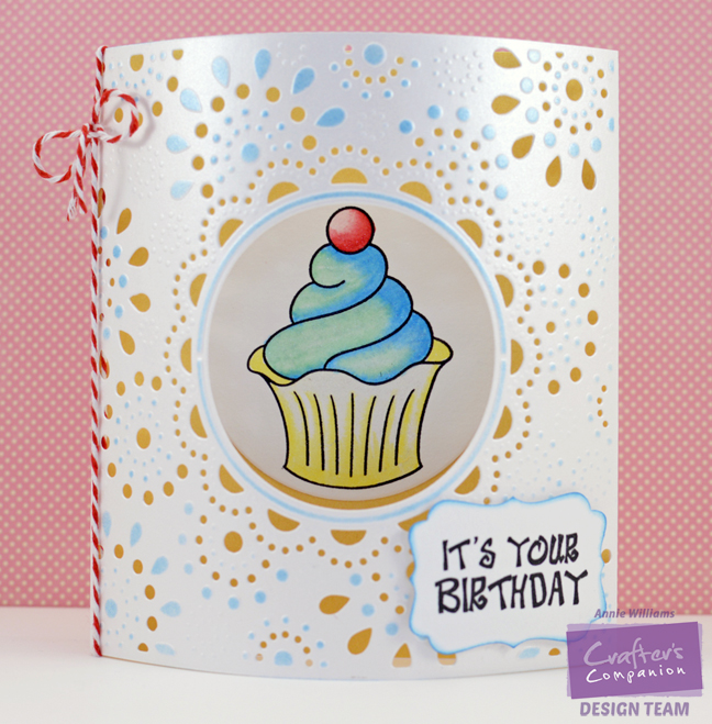 Sparkly Dome Birthday Card by Annie Williams - Main
