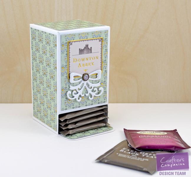 Downton Abbey Tea Bag Holder by Annie Williams - Main