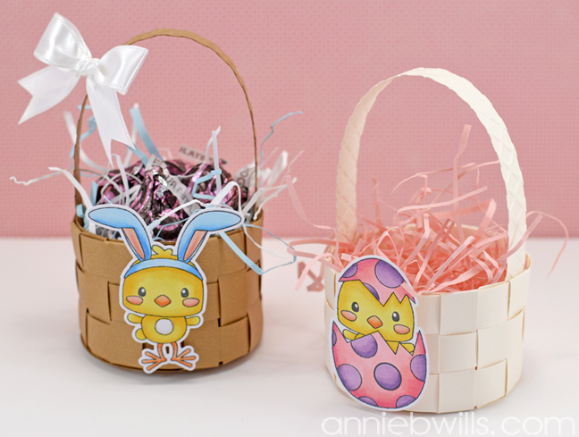 Mini Woven Easter Baskets by Annie Williams - Main