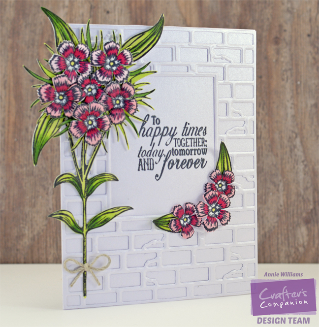 Sweet William Wedding Card by Annie Williams - Main