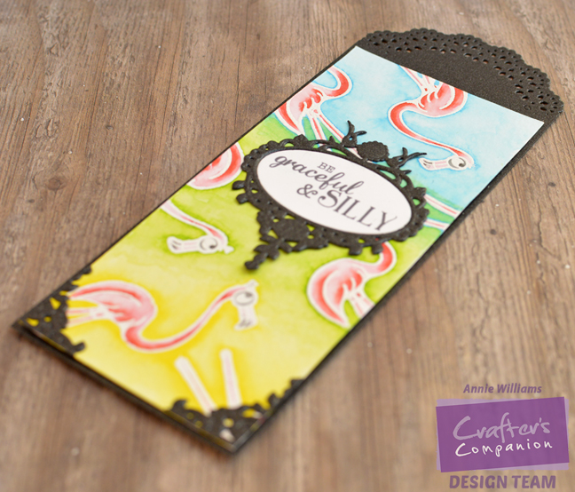 Flamingo Bookmark by Annie Williams - Full