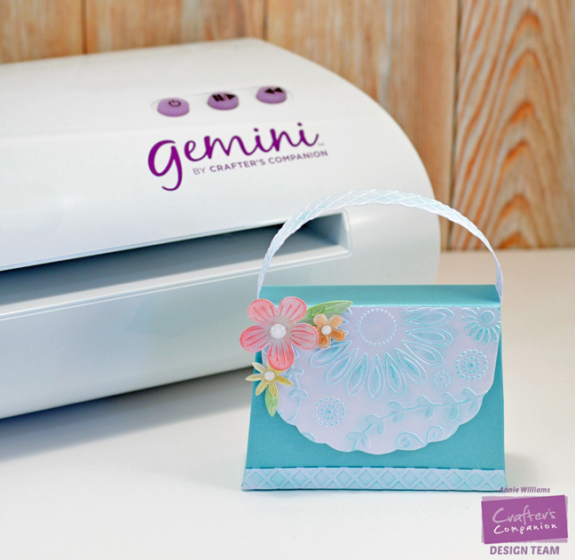Gemini Spring Purse w Machine by Annie Williams - Main