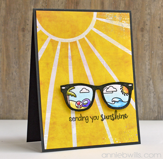 Sending Sunshine Card by Annie Williams - Main