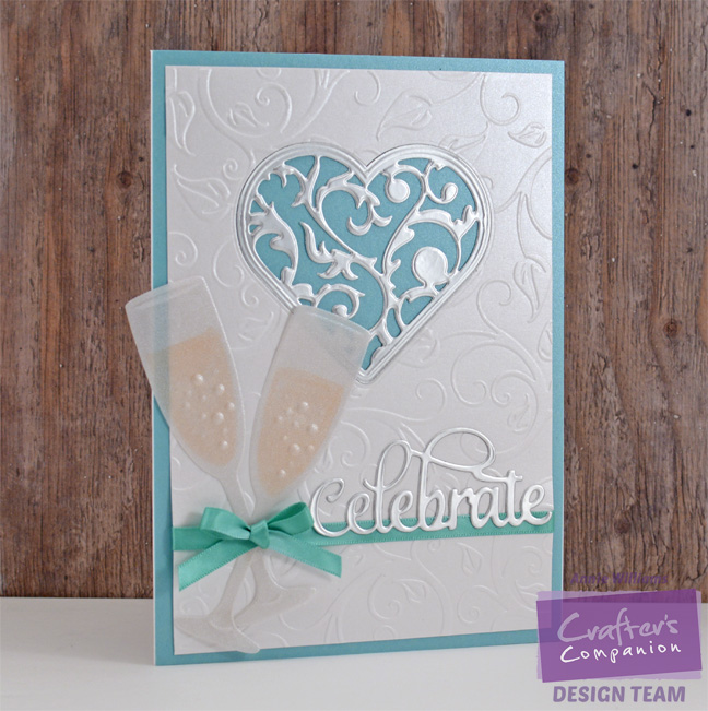 Celebrate with Champagne Card by Annie Williams - Full
