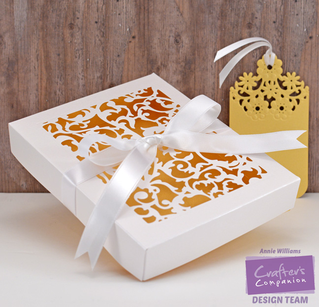Viny Gift Box and Tag by Annie Williams - Separate