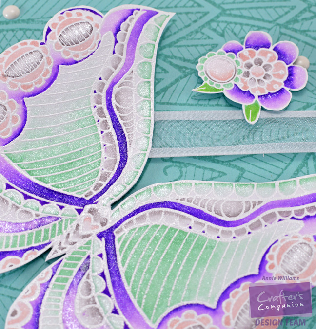 Colorista Butterfly Gift Box by Annie Williams - Detail