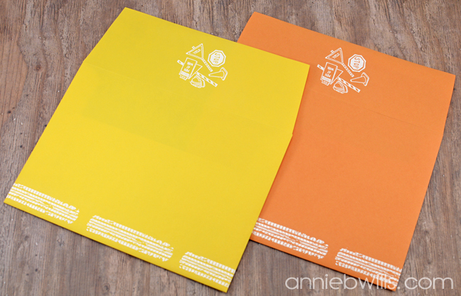 construction-party-decor-by-annie-williams-embossed-envelopes