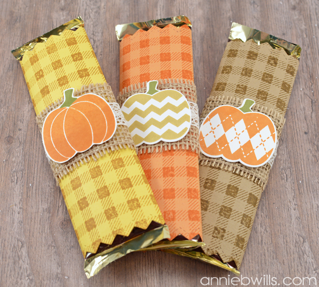 Easy Halloween Candy Bar Wrappers by Annie Williams - Full