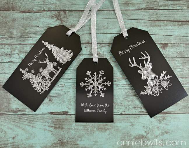 Metal Etched Gift Tags With The Silhouette Curio Lab Hands