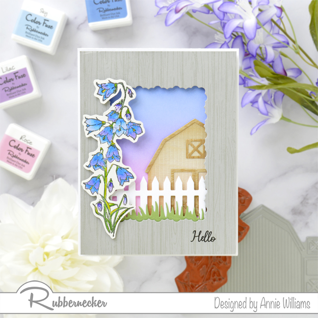 Rubbernecker Blog Country-Sunset-Scene-Card-by-Annie-Williams-Final