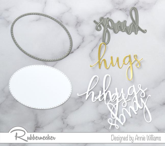 Rubbernecker Blog Slimline-Floral-Cards-Two-Ways-by-Annie-Williams-Hugs-Card-Diecutting