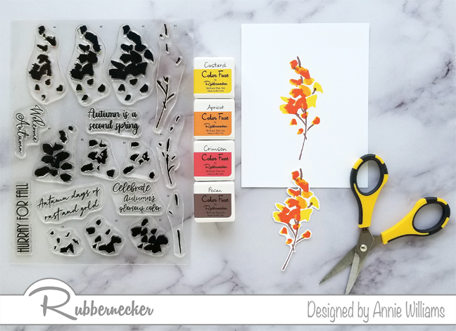 Rubbernecker Blog Autumn-Layering-FloralsTrio-by-Annie-Williams-Autumn-Harvest-Stamping