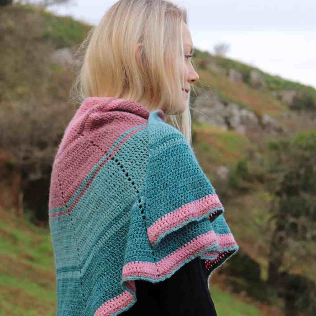 Faded Beauty Shawl – Crochet Pattern