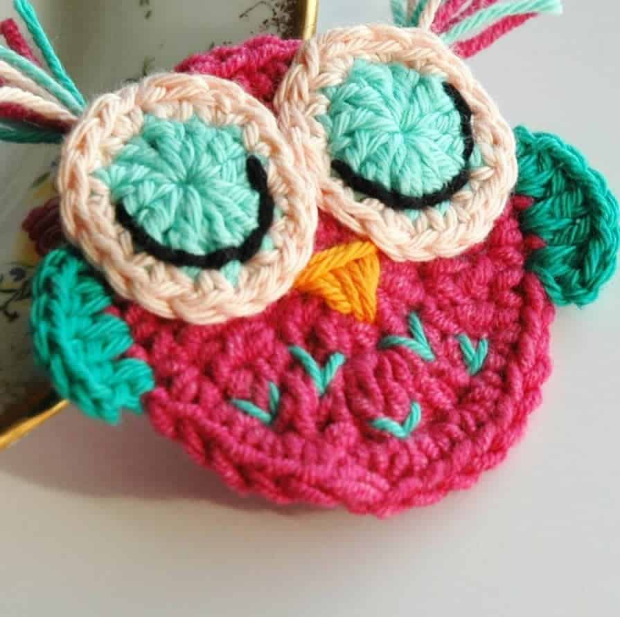 Free Crochet Owl Pattern and January Musings