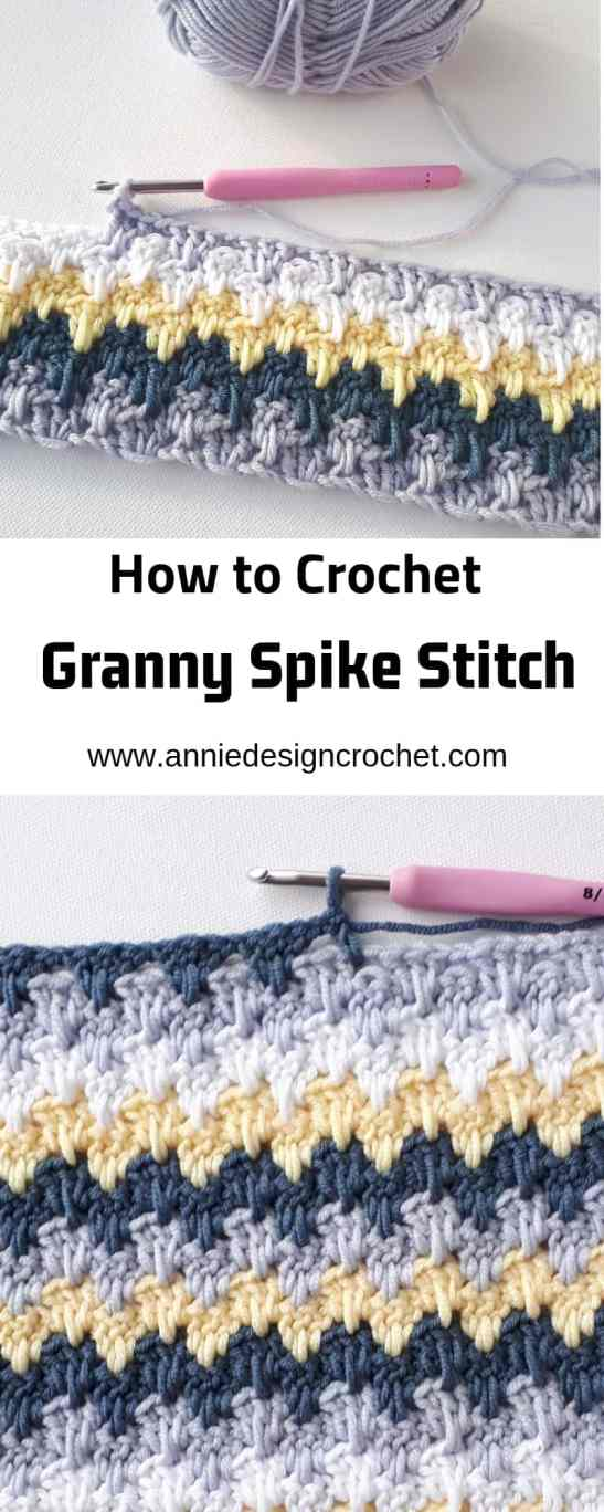 step by step crochet stitch tutorial for granny