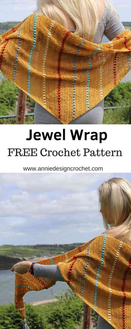 jewel wrap free crochet pattern