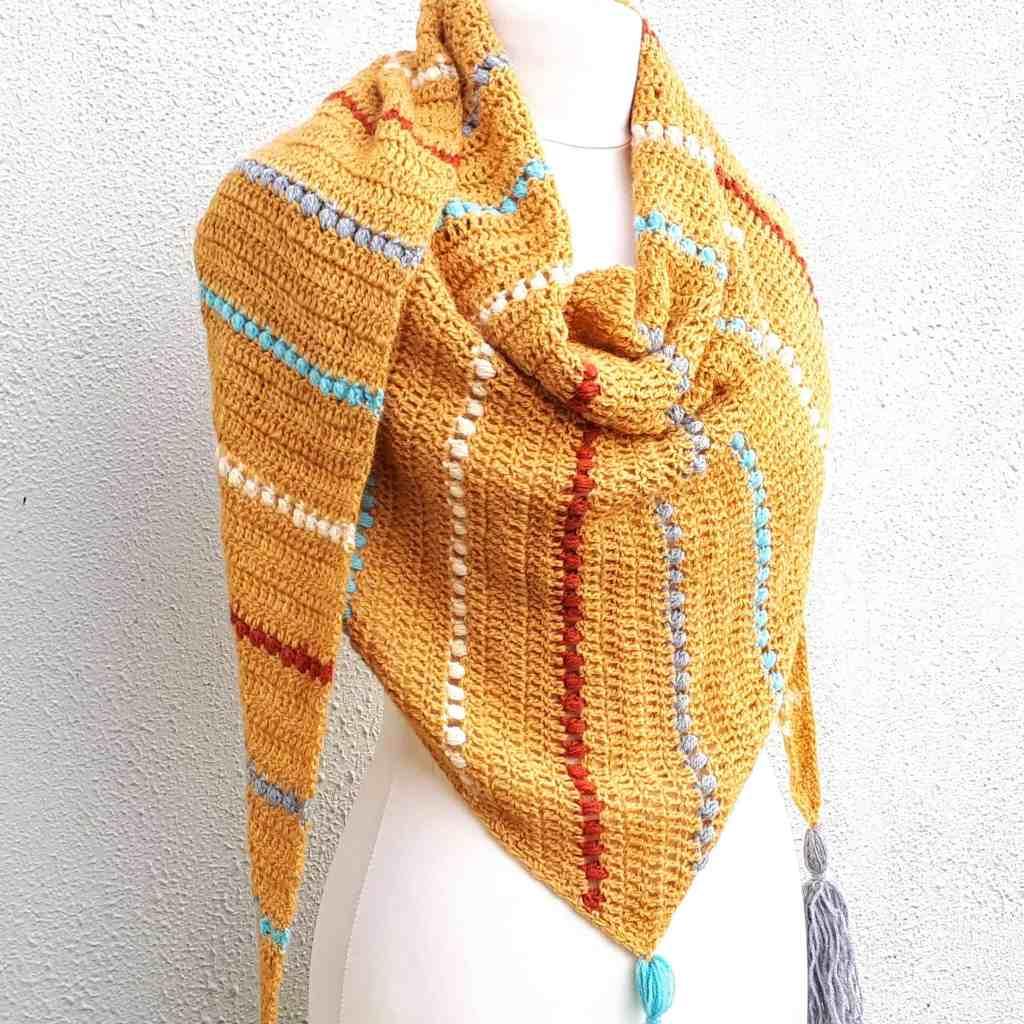 Jewel Wrap – Free Crochet Pattern