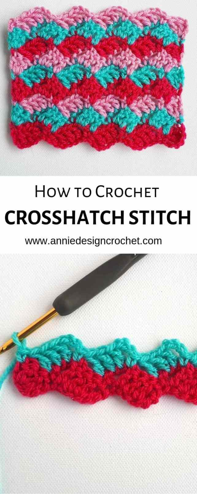 crochet stitch tutorial pattern