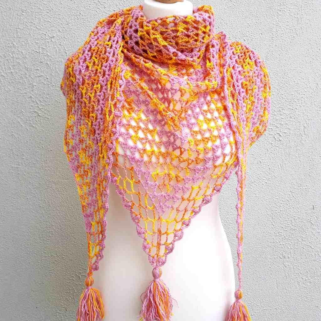 Fruit Salad Shawl – Free Crochet Pattern