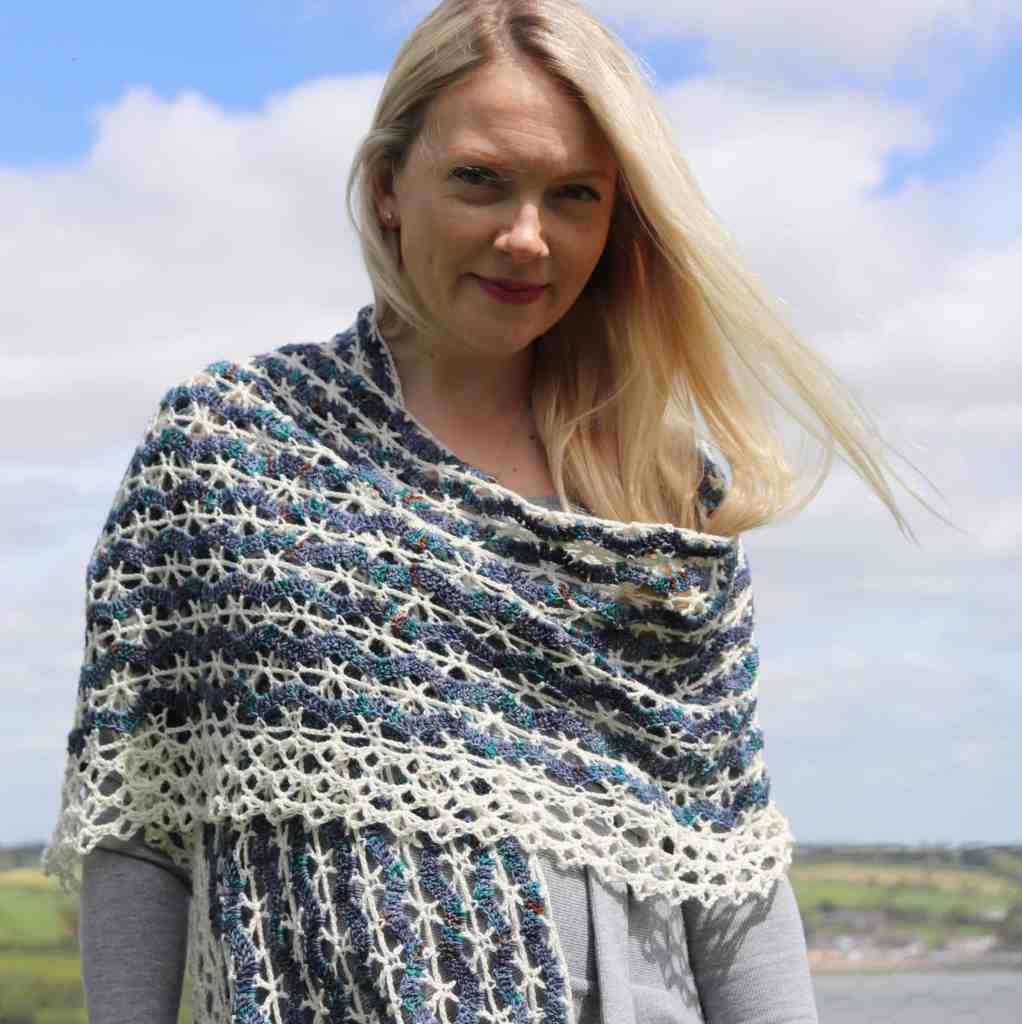 Réalta Wrap – A Lace Crochet Wrap