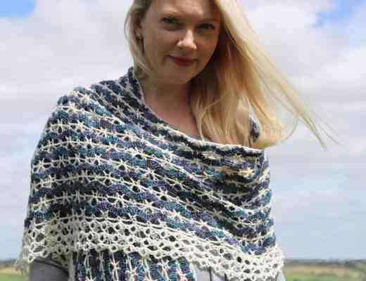 crochet wrap lace vintage shawl