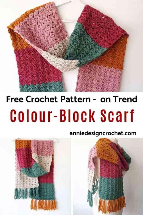 free pattern crochet scarf