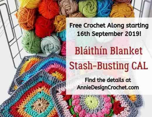 blaithin blanket CAL free crochet along