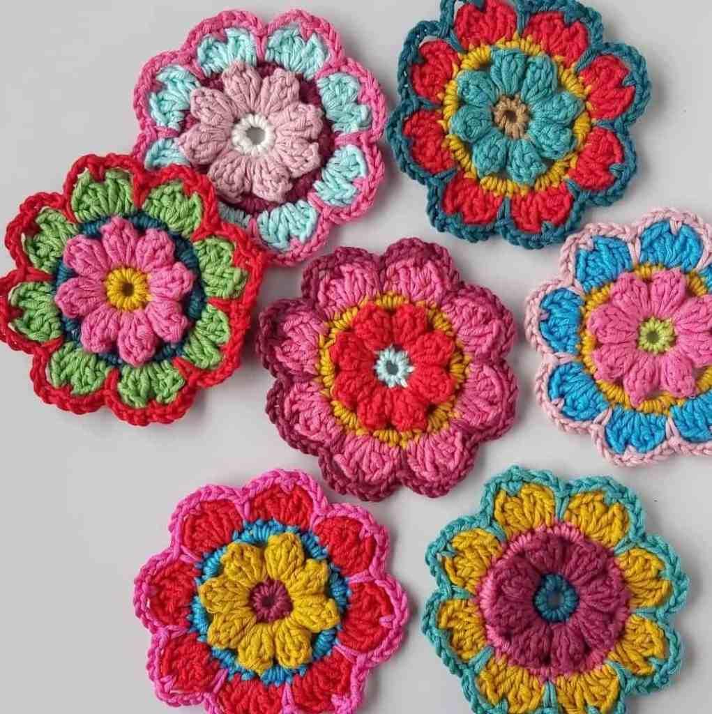 Large Crochet Flower Pattern – Free