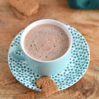 Chocolademelk van cacaopoeder