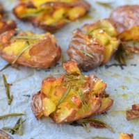 Geplette Roseval aardappels uit de oven + crunch tip!
