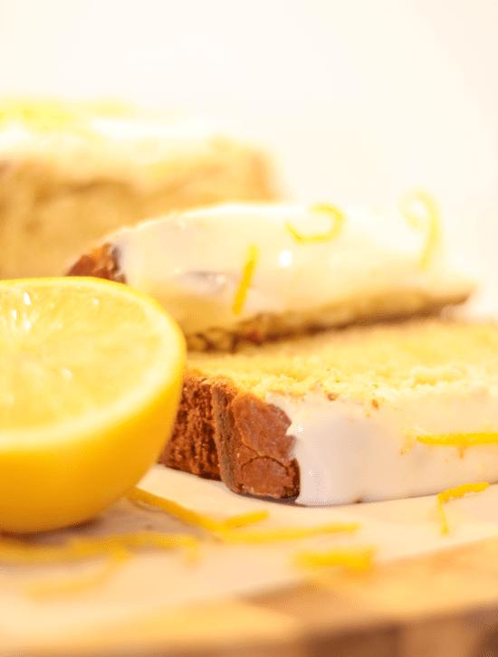 Lemon and White Chocolate Loaf Cake
