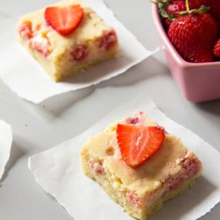 Strawberry and Lemon Bars