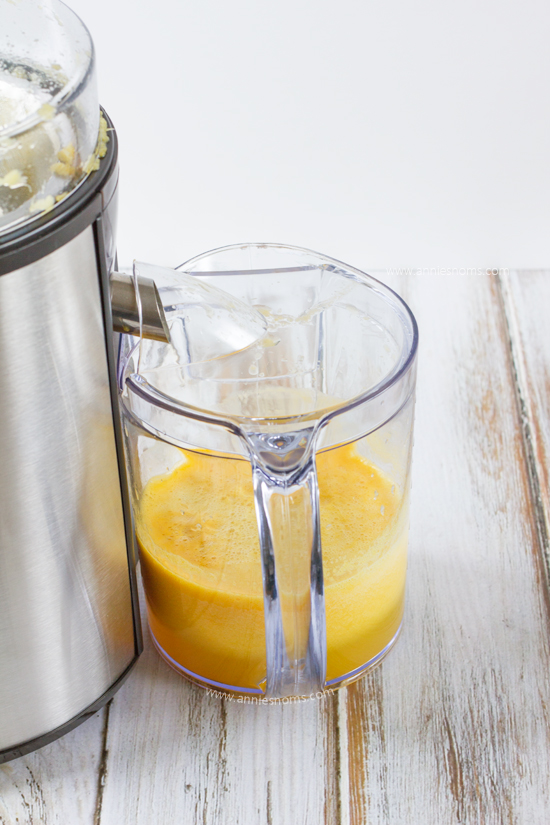 how to make orange juice in mixer