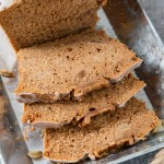 With chunks of pear, brewed Chai tea and spices; this Pear and Chai Loaf Cake is jam packed full of flavour. It's the perfect way to enjoy your Chai tea!